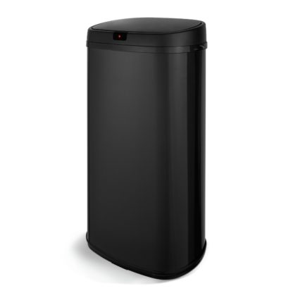 An Image of Tower 42 Litre Sensor Bin - Black