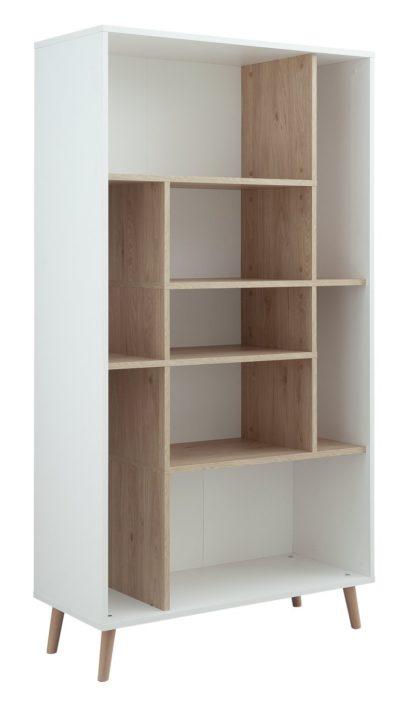 An Image of Habitat Skandi Storage Unit - White Two Tone
