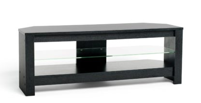 An Image of AVF Up To 55 Inch TV Stand - Black Oak