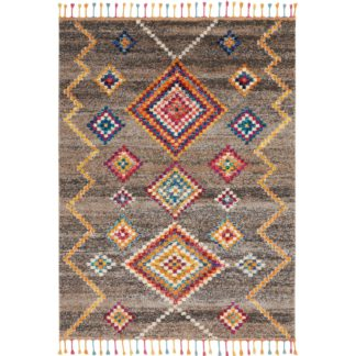 An Image of Nomad 5 Rug Grey