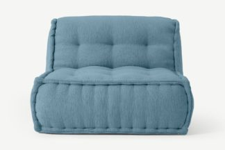 An Image of Sully Modular Floor Cushion, Citadel Blue