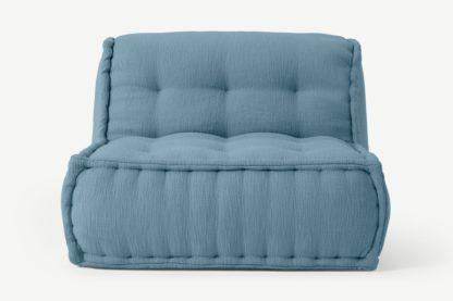 An Image of Sully Modular Floor Cushion, Citadel Blue