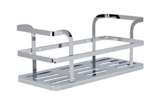 An Image of Argos Home Flat Plate Bathroom Shelf