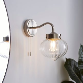 An Image of Voyager Bathroom Wall Light Chrome