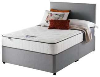 An Image of Silentnight Middleton 800 PKT Comfort 0DRW Grey Double