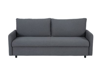 An Image of Habitat Freddy 2 Seater Fabric Sofa Bed - Grey