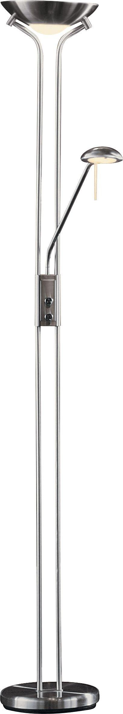 An Image of Argos Home Father & Child Uplighter Floor Lamp - Chrome