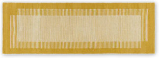 An Image of Caixa Wool Runner, 70 x 200cm, Mustard Yellow