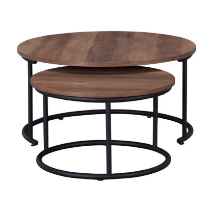 An Image of Fulton Set of 2 Coffee Tables Pine