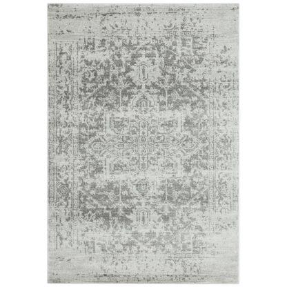 An Image of Asiatic Nova Abstract Rectangle Rug - 80x150cm - Grey
