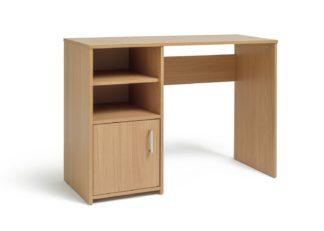 An Image of Habitat Lawson Office Desk - Oak Effect