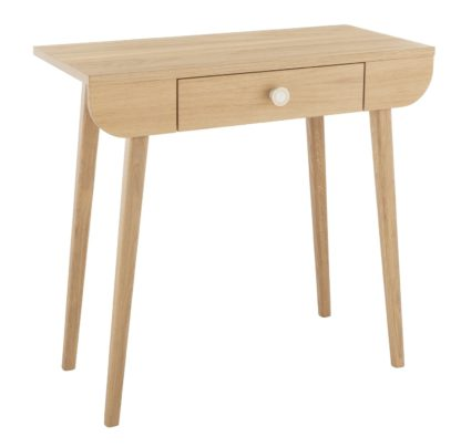An Image of Habitat Etta Dressing Table - Oak