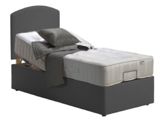 An Image of MiBed Newquay Adjustable Single Bed and 1200 Pocket Mattress