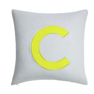 An Image of Argos Home Letter C Cushion