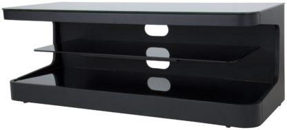 An Image of AVF Up to 55 Inch Wood TV Stand - Black