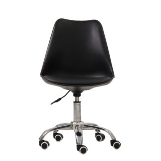 An Image of Orsen Swivel Office Chair - Black Black