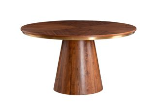An Image of Brewster 4-6 Seat Walnut Dining Table