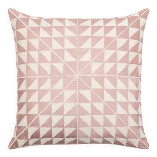 An Image of Geocentric Cushion Pink 50cm x 50cm