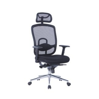 An Image of Miami Office Chair Black