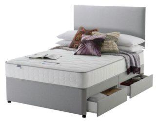An Image of Silentnight Middleton 800 PKT Comfort 4DRW Grey Superking