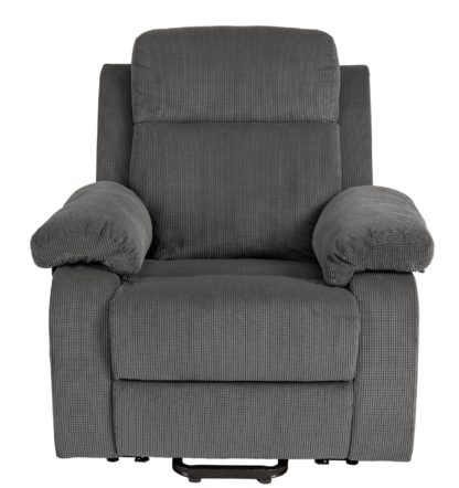An Image of Argos Home Bradley Fabric Rise & Recline Chair - Natural