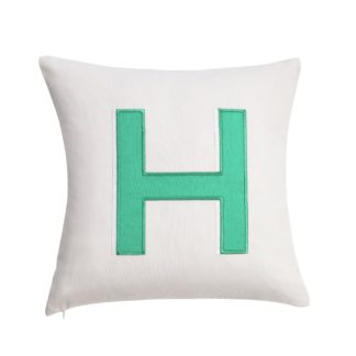 An Image of Argos Home Letter H Cushion