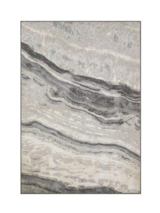 An Image of Habitat Glam Marble Rug - 160x230cm - Grey