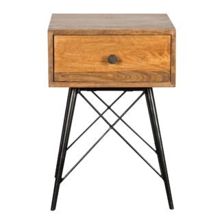 An Image of Finchley Nightstand Wood (Brown)