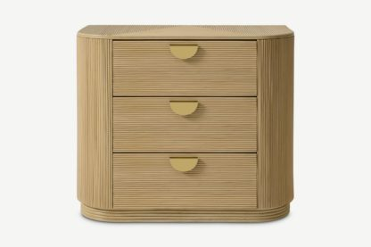 An Image of Azrou Chest of Drawers, Natural Cane