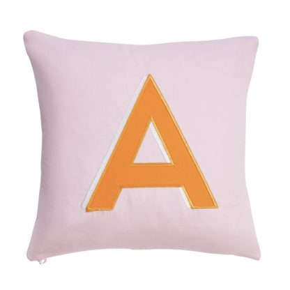 An Image of Argos Home Letter A Cushion