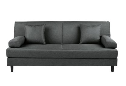 An Image of Habitat Chase Fabric Clic Clac Sofa Bed - Light Grey