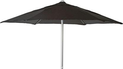 An Image of Argos Home 2m Water Repellent Garden Parasol - Black