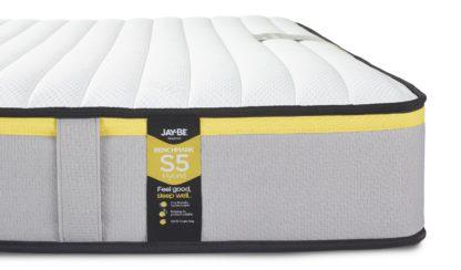 An Image of Jay-Be Benchmark S5 Hybrid Eco Friendly King Mattress