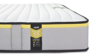 An Image of Jay-Be Benchmark S5 Hybrid Eco Friendly Double Mattress