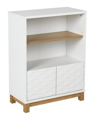 An Image of Argos Home Zander Double Unit - White