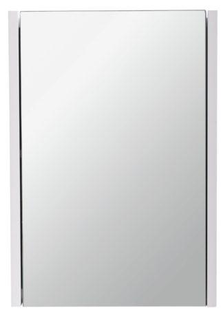 An Image of Argos Home 1 Door Mirrored Cabinet