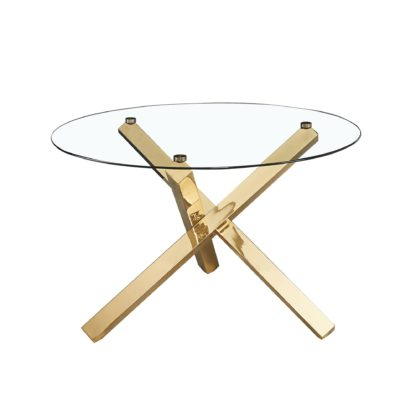 An Image of Laila Dining Table Gold