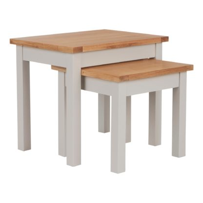 An Image of Bromley Grey Nest of Tables Grey