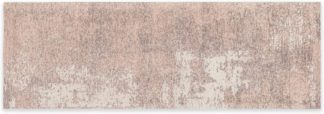 An Image of Genna Jacquard Runner 66 x 200 cm, Pink