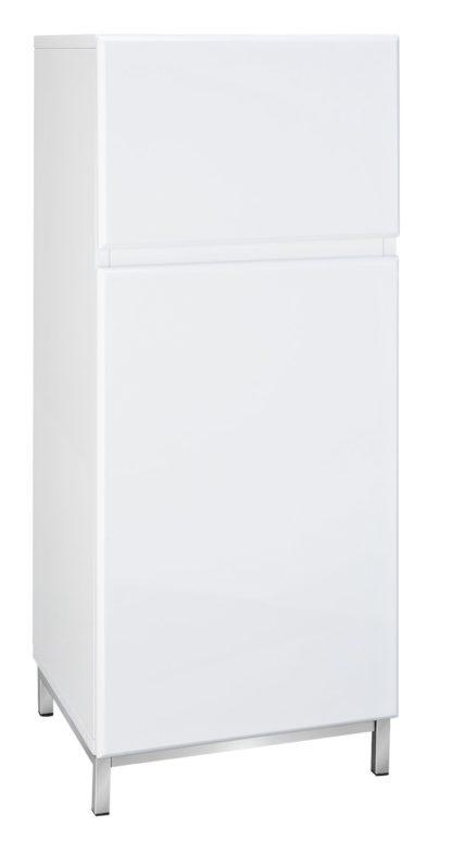 An Image of Argos Home Gloss Single Unit - White