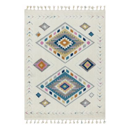 An Image of Asiatic Ariana Shaggy Moroccan Rectangle Rug - 120x170cm