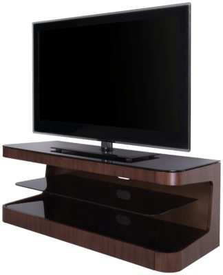 An Image of AVF Up to 55 Inch Wood TV Stand - Walnut