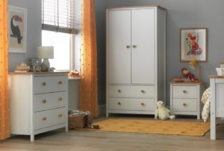 An Image of Argos Home Brooklyn 3 Piece Package - White and Oak