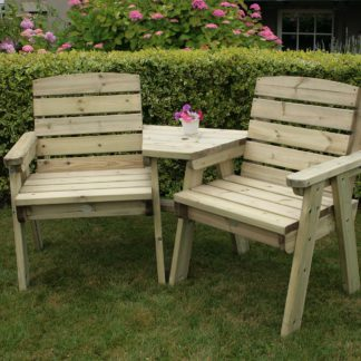 An Image of Timber Cotswold Companion Seat Natural