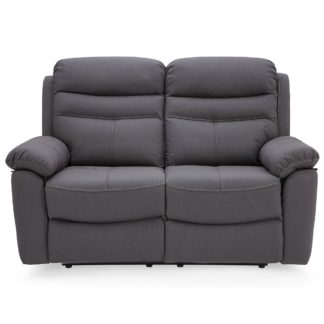 An Image of Conway Reclining 2 Seater Sofa Grey