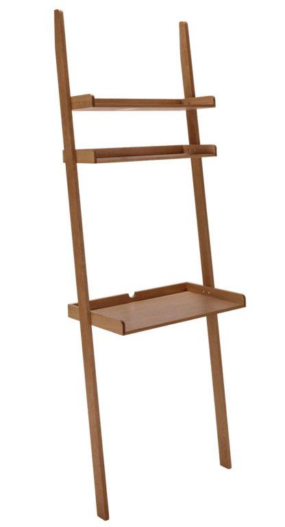 An Image of Habitat Jessie Walnut Ladder Desk