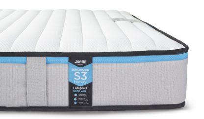 An Image of Jay-Be Benchmark S3 Memory Eco Friendly King Mattress