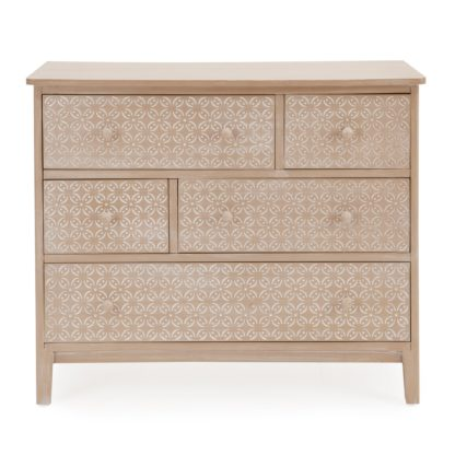An Image of Ivy Chest of Drawers Brown