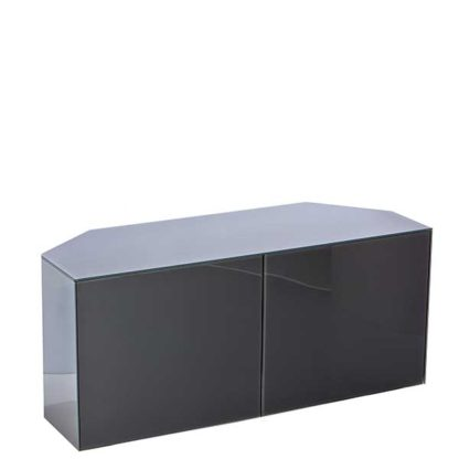 An Image of Express Delivery Intelligent Concept 110cm High Gloss Corner TV Unit