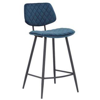 An Image of Archer Bar Stool Blue
